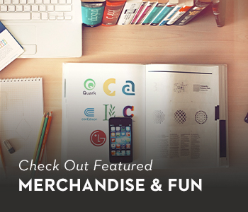 Check Out Featured Merchandise & Fun